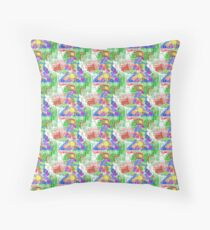 Christmas Tree for the Holidays Throw Pillow