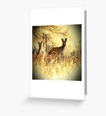 Heat of the Day Greeting Card
