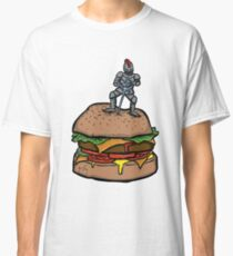 The Sword in the Sirloin (Burger) Classic T-Shirt