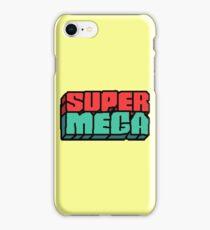 SuperMega Logo Merch iPhone Case/Skin