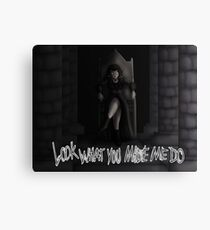 Morgana - Look What You Made Me Do Canvas Print
