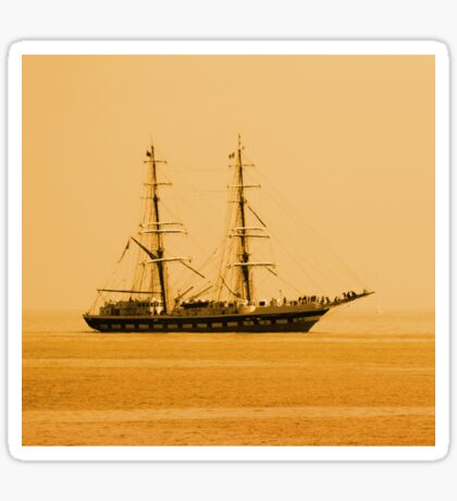 Tall Ship Sticker