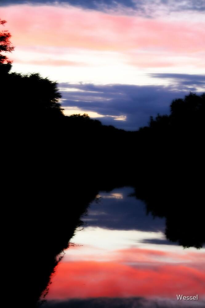 Le Canal Du Nivernais by Wessel