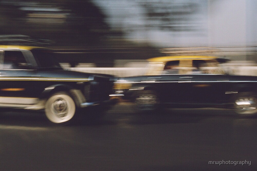 Indian Taxis by mrwphotography