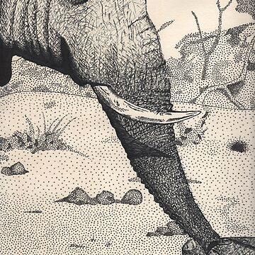 Family - Elephants by prettyinink