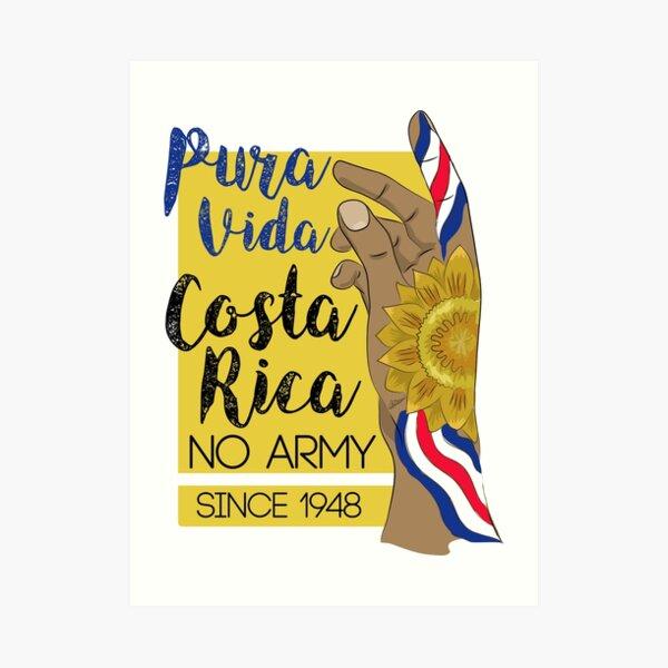 Costa RIca NO army Art Print
