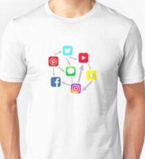 Social Media Network T-Shirt