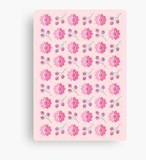 Sakura Cherry Blossoms Canvas Print
