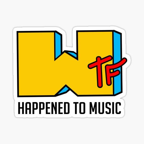 Wtf happened to music - MTV Sticker