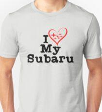 I heart my Subaru Unisex T-Shirt