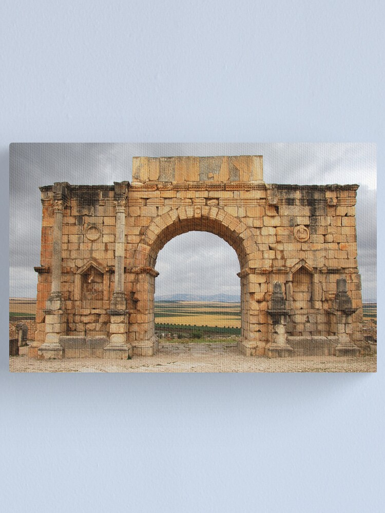 Alternate view of Roman arch Canvas Print