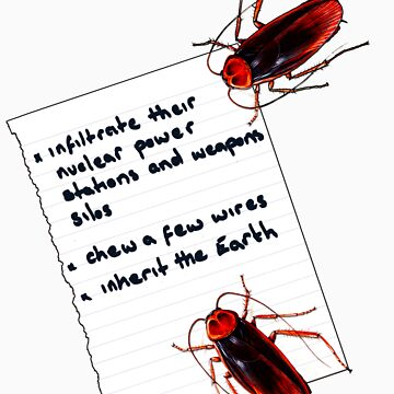 Cockroach Manifesto by whoiam