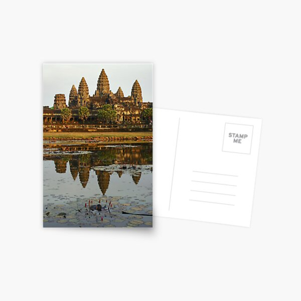 Angkor Vat - Cambodia Postcard