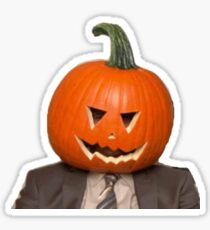 Halloween Dwight Sticker