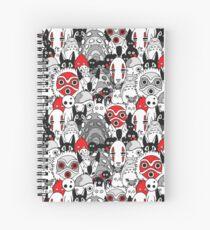 Cuaderno de espiral Studio Ghibli