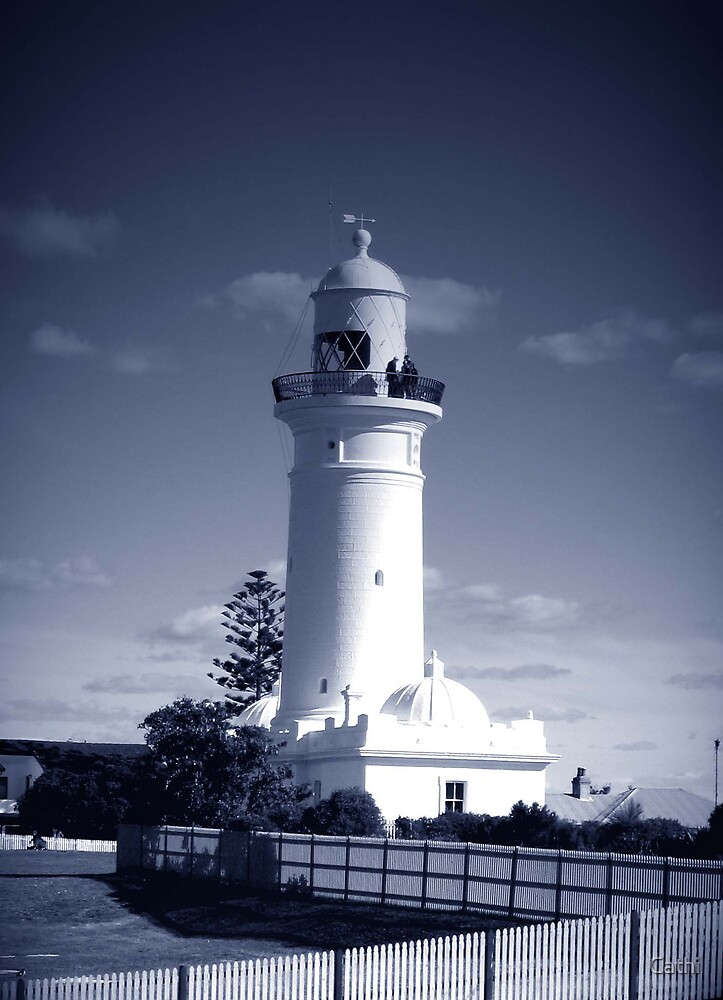 Macquarie Lighthouse by Cathi Norman