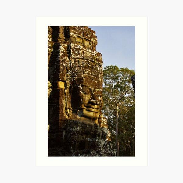 Giant Stone - Cambodia Impression artistique