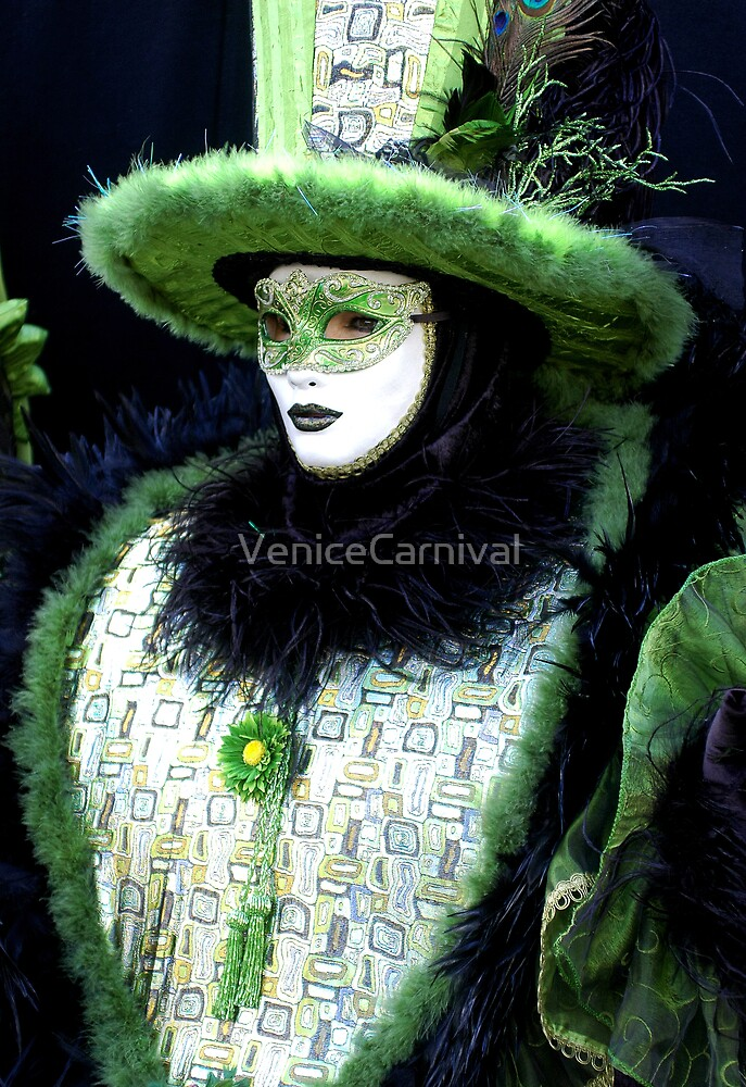 Green Jester  by VeniceCarnival
