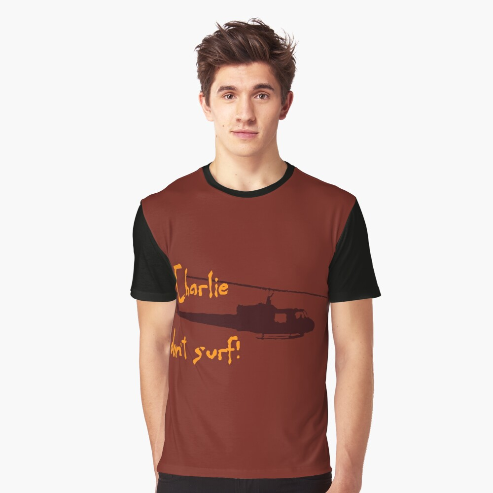 Charlie dont surf Graphic T-Shirt Front