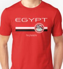 6efa50367 Football - Egypt (Home Red) Slim Fit T-Shirt