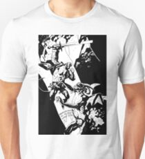 Hellboy in Hell Tracing Unisex T-Shirt