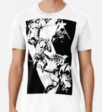 Hellboy in Hell Tracing Men's Premium T-Shirt