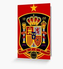 Spain. Espana. Greeting Card