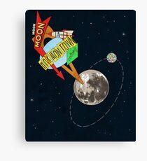 Moon-Moon Canvas Print