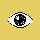 Augen weit offen - Senfgelb von daisy-beatrice