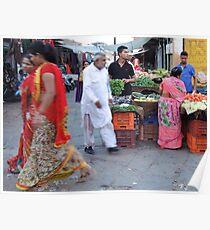 The Fruit Seller Poster