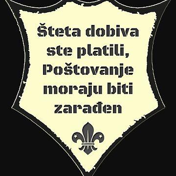 Croatia / Cool Sayings T-Shirts / Postovanje by lemmy666