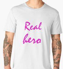 Real hero. Men's Premium T-Shirt