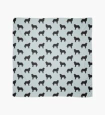 Bernese Mountain Dog Silhouette(s) Scarf