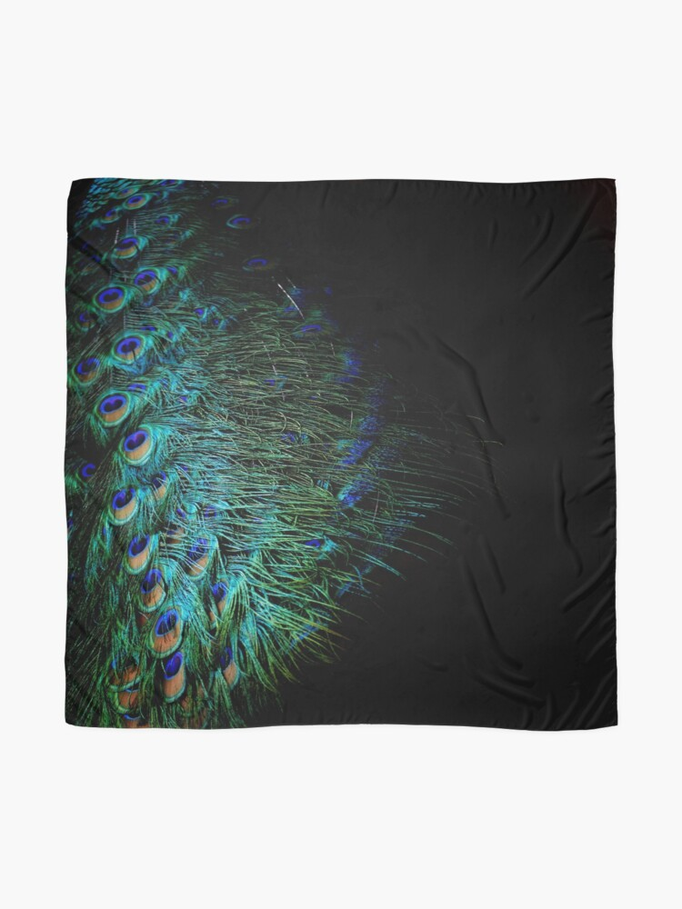 Alternate view of Peacock Feather Scarf
