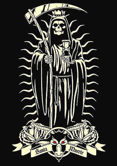 Image result for santa muerte