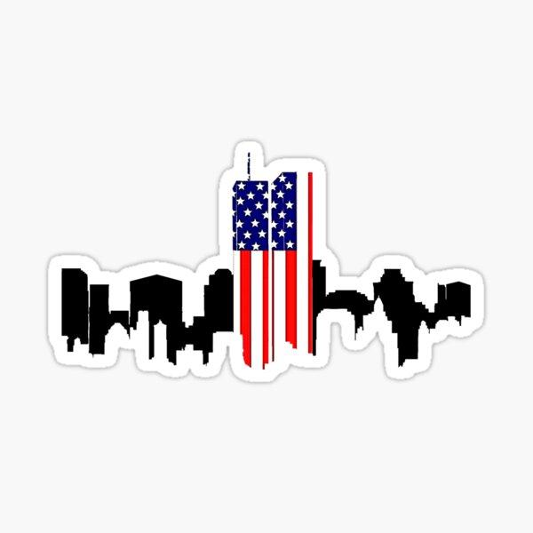 911 Never Forgotten (light) Sticker