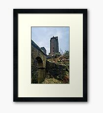 The Pigeon Tower. Framed Print