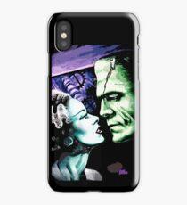 Bride & Frankie Monsters in Love iPhone Case/Skin