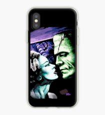 Bride & Frankie Monsters in Love iPhone Case