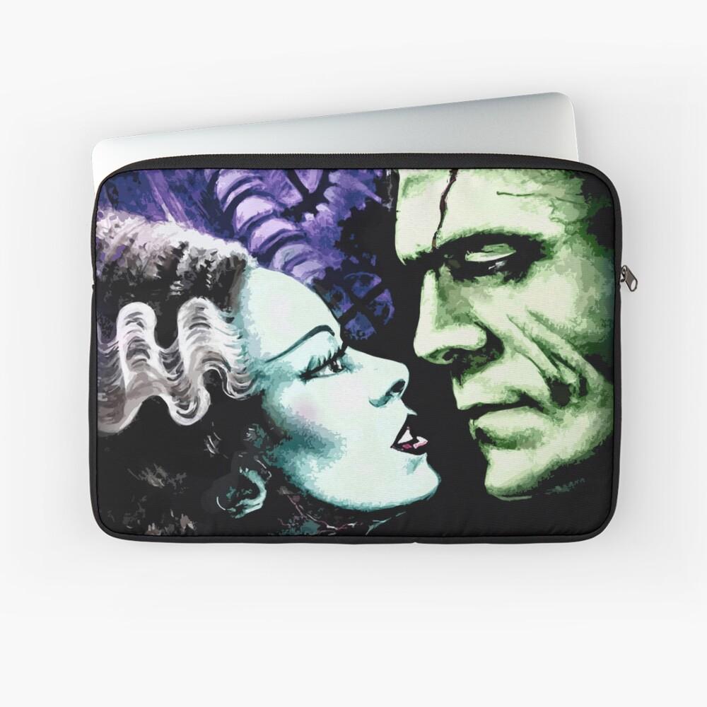 Bride & Frankie Monsters in Love Laptop Sleeve