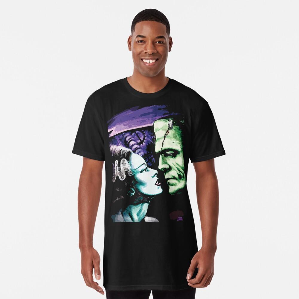 Bride & Frankie Monsters in Love Long T-Shirt