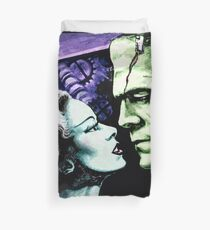 Bride & Frankie Monsters in Love Duvet Cover