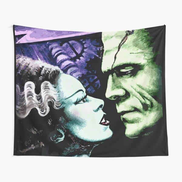 Bride & Frankie Monsters in Love Tapestry