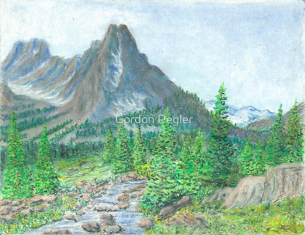 Colorado mountains by Gordon Pegler