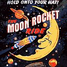 Rocket Moon Ride (vintage) by Scott Jackson