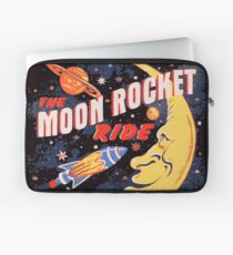 Rocket Moon Ride (vintage) Laptop Sleeve