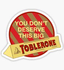 Big Toblerone Sticker