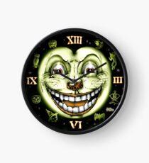 Black Cat 13 Halloween Clock Clock