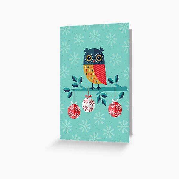 Whoo-Hoo It's Christmas! Greeting Card