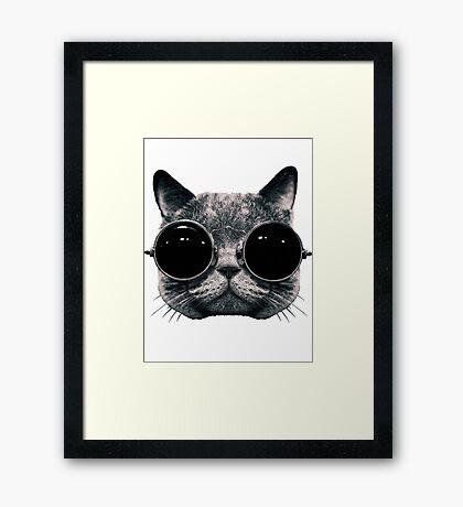 Meow Me-Yeahhhh... Framed Print